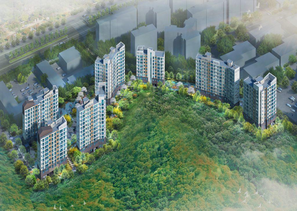 도룡동3구역 공동주택 신축공사