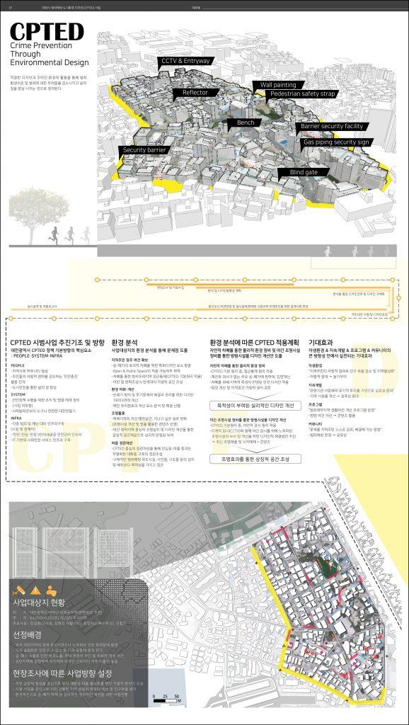 대전 CPTED 시범사업