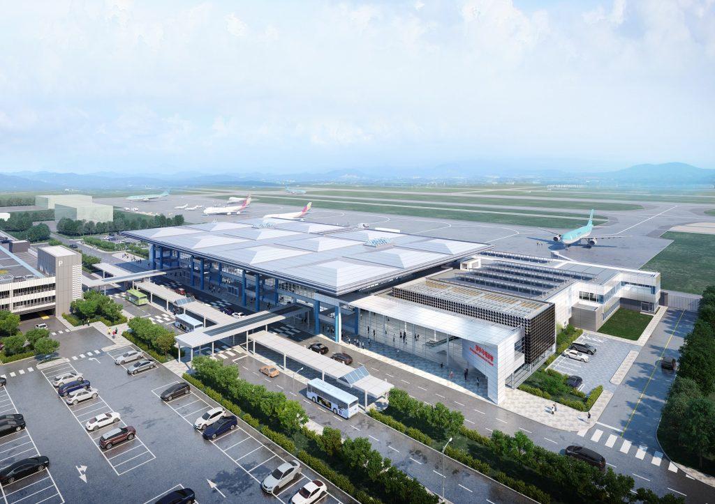 청주국제공항 국내선 여객터미널